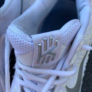 Nike Shoes - Nike Kyrie 3 men's white chrome basketball sneaker